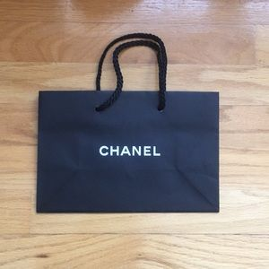 Chanel Paper Gift Bag